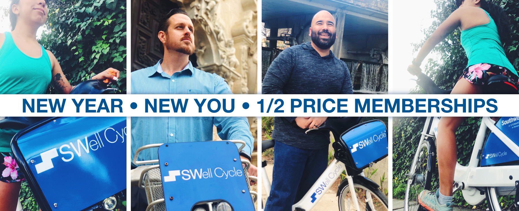 New Year, New You! Half Price SWell Cycle Memberships