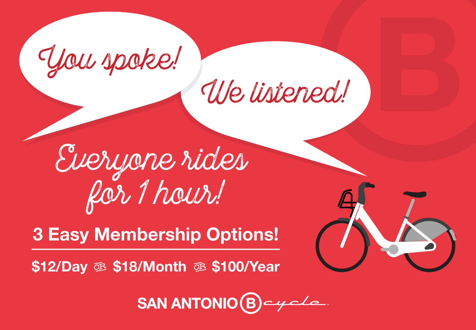 San Antonio B-cycle Member Info