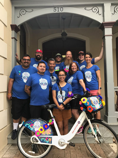 Fiesta Bcycle Staff